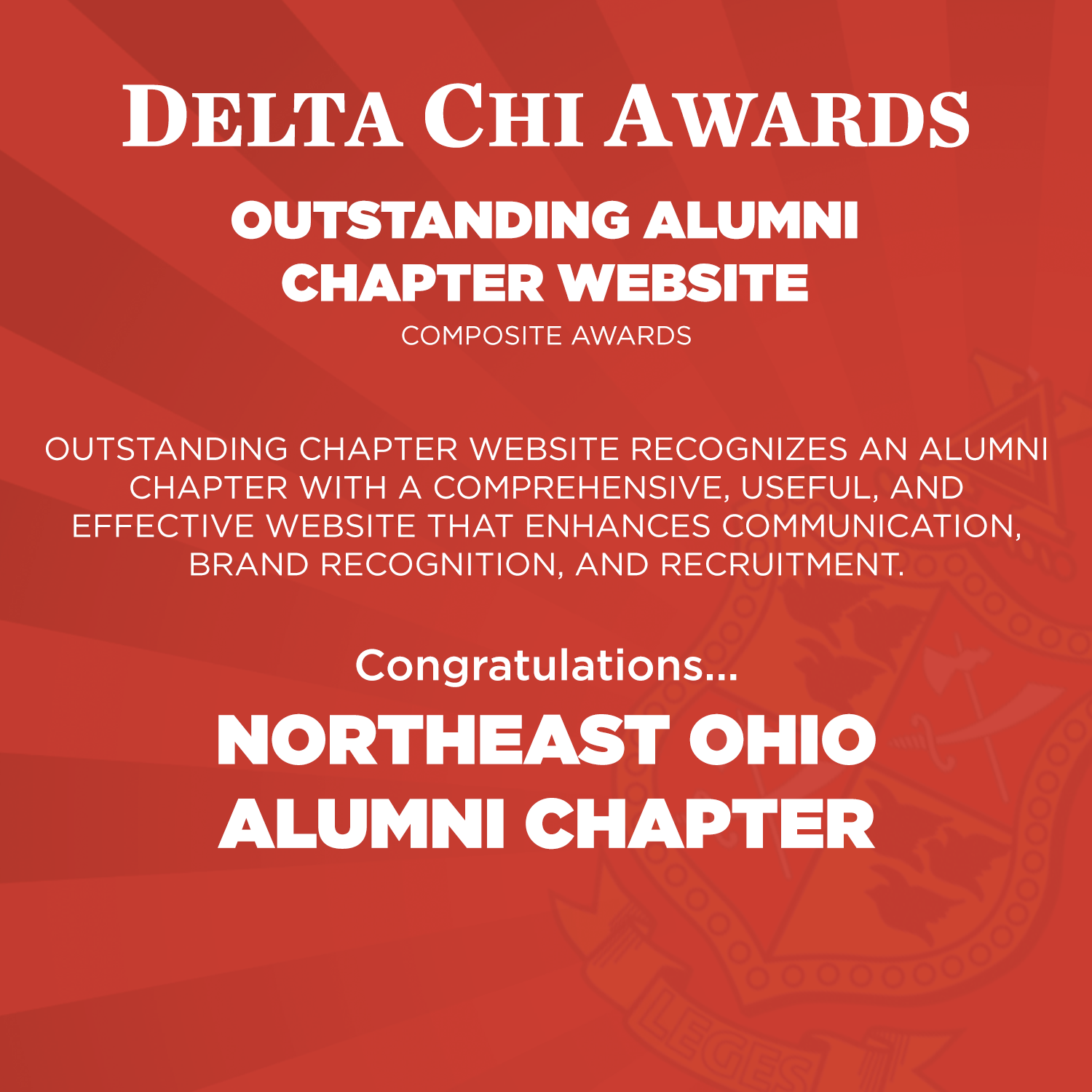 Outstanding Alumni Chapter Website